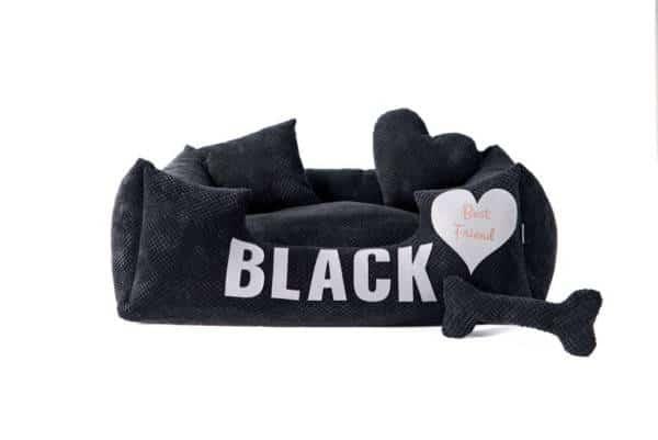 Legowisko dla psa – seria PLATINUM BLACK, rozmiar L